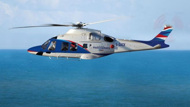 A new helicopter service between Cornwall and the Isles of Scilly